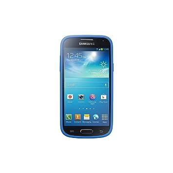 Samsung Protective Cover Plus - Funda para móvil Galaxy S4 mini (revestimientode goma), azul- Versión Extranjera