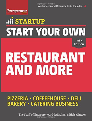 Start Your Own Restaurant and More (StartUp Series): The Staff of ...