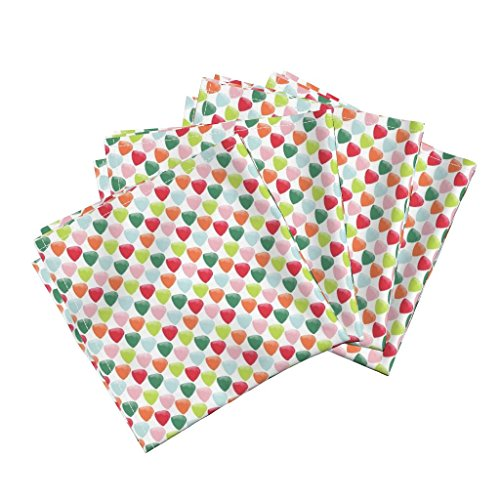 Roostery Candy Gumdrops Christmas Holiday Sweets Gingerbread House Colorful Linen Cotton Dinner Napkins Goody Goody Gumdrops by Jillbyers Set of 4 Dinner (Goody Goody Gumdrop)