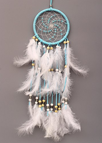 VGIA Dream Catcher Handmade Traditional, With Beads and Feathers