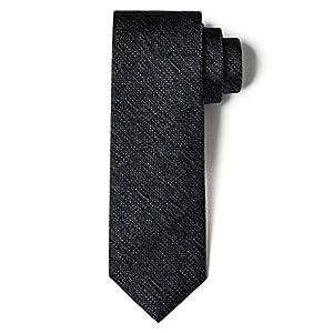 Origin Ties 100% Silk Skinny Grenadine Tie Handmade Men's Solid Color 2.5