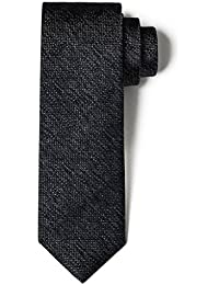 "<span class=""a-offscreen"">[Sponsored]</span>100% Silk Skinny Grenadine Tie Handmade Men's Solid Color 2.5"" Necktie"