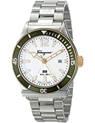 Salvatore Ferragamo Mens FF3150014 Ferragamo 1898 Sport Stainless Steel Watch