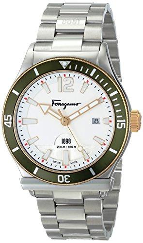 Salvatore Ferragamo Men's FF3150014 Ferragamo 1898 Sport Stainless Steel Watch from Salvatore Ferragamo