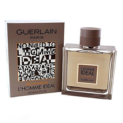 Guerlain L'Homme Ideal Eau De Parfum Spray For Men, 3.3 Ounce - Les Parfums