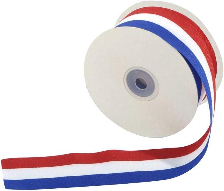 Artificielles – Cinta en francés Bandera Colores – Ancho 50 mm – 25 m Rollo: Amazon.es: Hogar