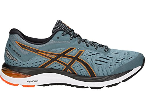 ASICS Men's Gel-Cumulus 20 Running Shoes, 7M, IRONCLAD/Black