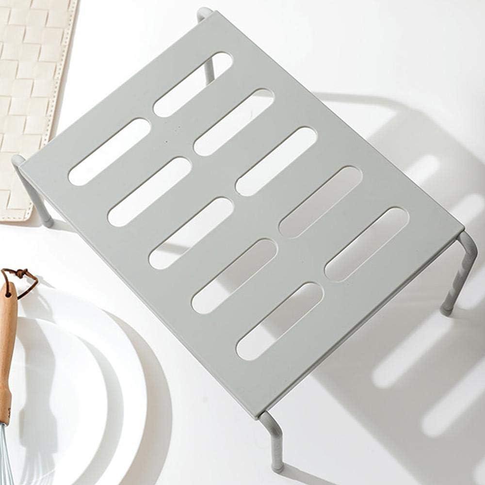Lavander/ía Organizadores Armarios Cocina Multifuncional Crea m/ás Espacio para Ba/ño Blanco Volwco Estante de Cocina Extensible Cocina 36 x 15 x 24 cm