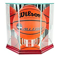 Perfect Cases Octagon Basketball Glass Display Case