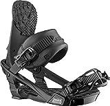 Salomon Trigger Mens Snowboard Bindings Black Sz M