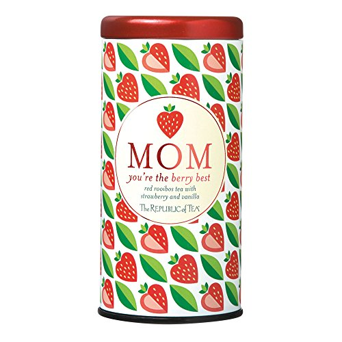 The Republic Of Tea Mom You're The Berry Best Tea, 36 Tea Bags, Gourmet Tea, Strawberry Vanilla Tea Gift