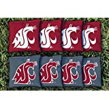 8 Washington State WSU Cougars Regulation Corn Filled Cornhole Bags