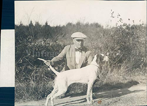 Vintage Photos 1932 Photo Pepper Chicagonian Mack Winner Amateur Puppy Stake Dog Animal Rare