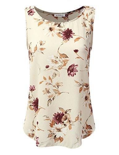 Doublju Loose Blouses Sleeveless Women product image