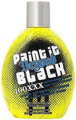 Millenium Tanning Paint it Beyond Black Millenium Bronzer, 100 XXX, 13.5 Ounce