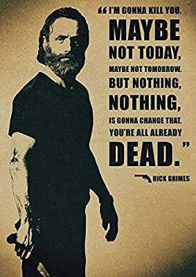 MOTIVATION4U The Walking Dead,an American Post-Apocalyptic Horror Television Series Rick Grimes, Shane Walsh, Lori Grimes 12 x 18 inch Poster