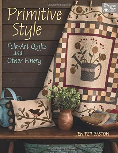 Hooked Rustic Rug - Primitive Style: Folk-art Quilts and Other Finery