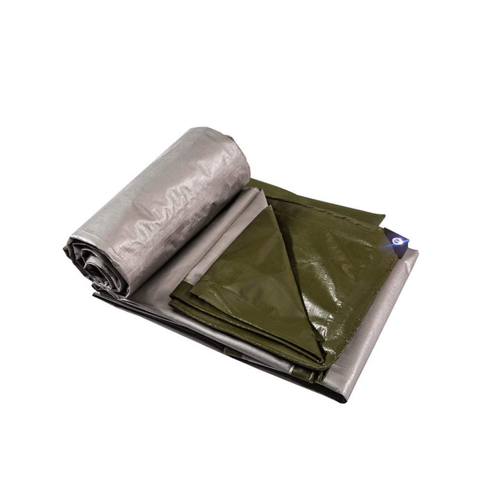 Plane LCSHAN Regendichtes Tuch-starker Wasserdichter Sunscreen-Plastikaußenstaub-Stoff (größe : 4  6m)
