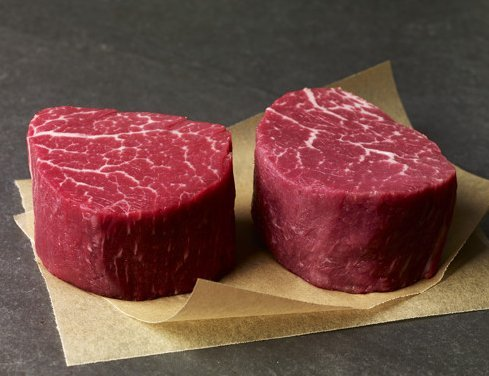 (4) Halal Wagyu-Kobe 8oz Filet Mignon Tenderloins $29.99 Each