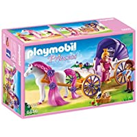 Playmobil 6856 - Jeu - Calèche Royale+ Cheval à Coiffer