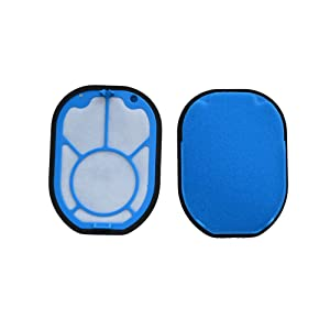 EZ SPARES 2Pcs Replacement for DYS DC16 Pre Filter, for All DC16 Hand-held Vacuums,Washable & Reusable,Part # 912153-01