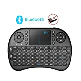 Rii i8 Multifunction Mini Wireless Bluetooth Keyboard with Touchpad Mouse , Multi-media Portable Android Keyboard For PC Laptop Raspberry PI HTPC IPTV Google Smart TV Android Box XBMC Windows