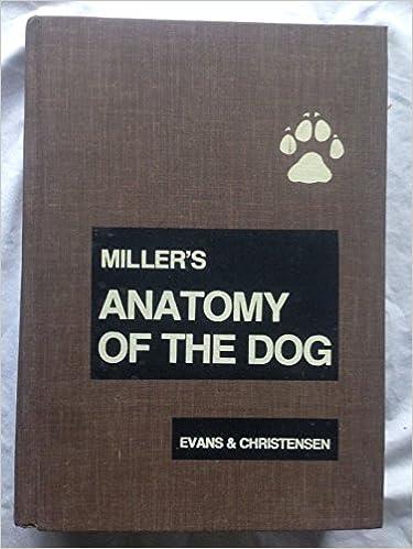 Millers Anatomy Of The Dog Malcolm E Miller Howard E Evans