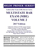 img - for Rigos Primer Series Uniform Bar Exam (UBE) Multistate Bar Exam (MBE) Volume 2: 2017 Edition book / textbook / text book