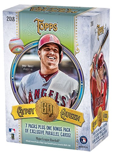 2018 Topps Gypsy Queen MLB Baseball BLASTER box (8 pk) (Box Topps Mlb)