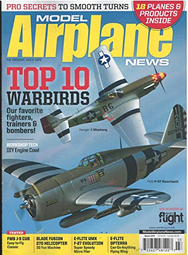 (Model Airplane News Magazine March)