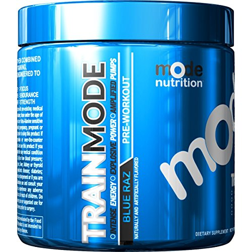Mode Nutrition - Train Mode 30 Serving Pre-Workout by MODE NUTRITION