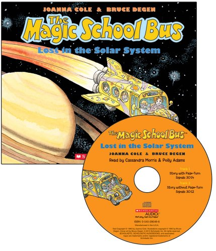 The Magic School Bus Lost in the Solar System - Audio Library Edition by Scholastic Audio Books (Image #1)