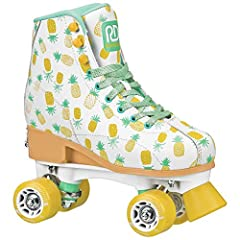 The innovative Candi Girl Lucy brings the fun of skating to growing feet. The Candi Girl series by Roller Derby are top-of-the-line quad skates made for style and performance. These skates will keep beginners and intermediate kids alike rolli...