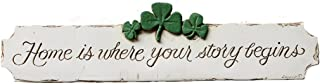 product image for Piazza Pisano Irish Decor Home is Where Your Story Begins Decorative Wall Plaque