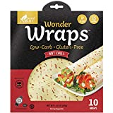 Wonder Wraps -Hot Chili- Low Carb Keto Tortillas