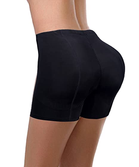 b6dfe225d3a Image Unavailable. Image not available for. Color  FUT Women Butt Lifter Padded  Panty Seamless Butt Hip ...