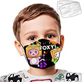Washable Child Face Mask Lank_The Foxy Kid Dust