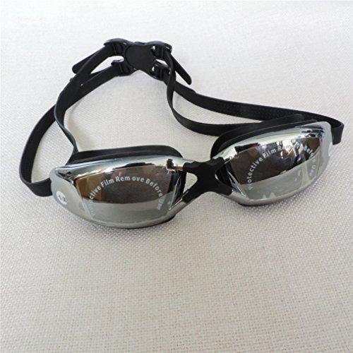 c886ae06e76 Swim Goggles Myopia Goggles Swimming Goggles Triathlon Swim Goggles No  Leaking Shatterproof Anti Fog UV Protection with Free Protection Case for  Adult Men ...