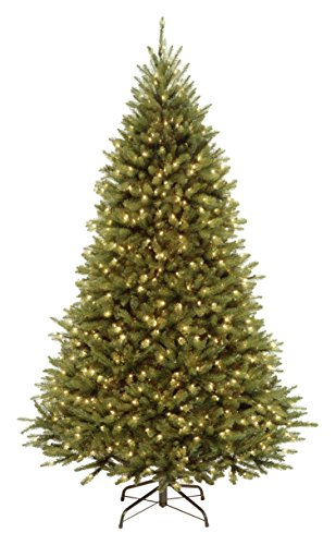 National Tree 7.5 Foot Kingswood Fir Tree with 500 Dual Color LED Lights and PowerConnect 9 Function System, Hinged (KW7-D53-75)