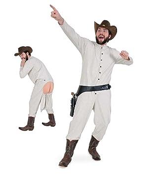 Carnaval 10838 disfraz Long John, ropa interior traje de vaquero