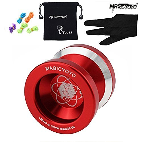 MAGICYOYO N8 Dare To Do Professional Yo-Yos Balls with 5