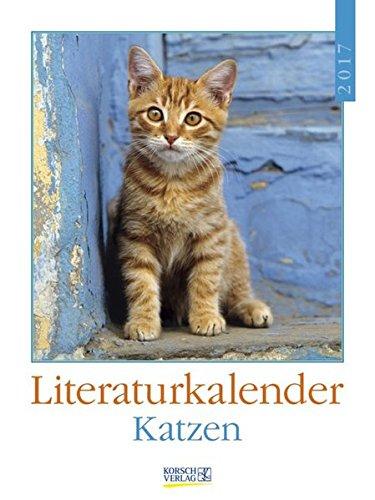 Katzen 2017: Literatur-Wochenkalender