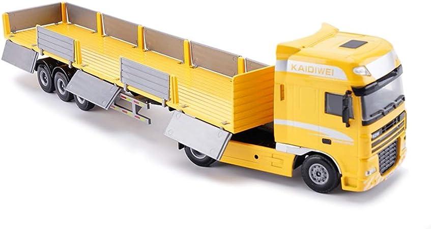 Engineering Truck Modell Spielzeug High Simulation Kunststoff f/ür Gl/ück Kinder /über 8 Jahre spielen blue Kipper Spielzeug