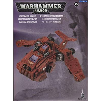 Games Workshop Warhammer Space Marines: Stormraven Gunship (2011): Toys & Games