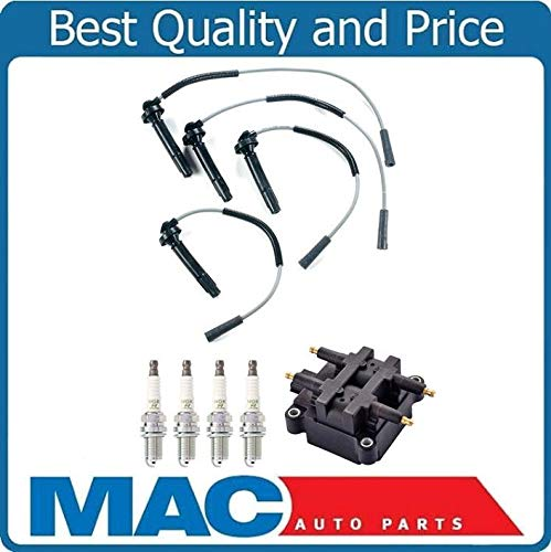 New Coil Ignition Wires 4 Spark Plug for Subaru Forester 99-04 2.5L Non Turbo by Mac Auto Parts