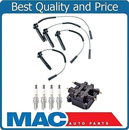 amazon com: new coil ignition wires 4 spark plug for subaru forester 99-04  2 5l non turbo: automotive