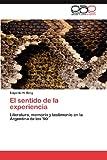 El Sentido de la Experienci, Edgardo H. Berg, 3848472996