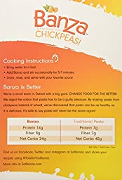 Banza | Gluten Free Pasta-Shells Chickpea 8 Oz [3 Pack]
