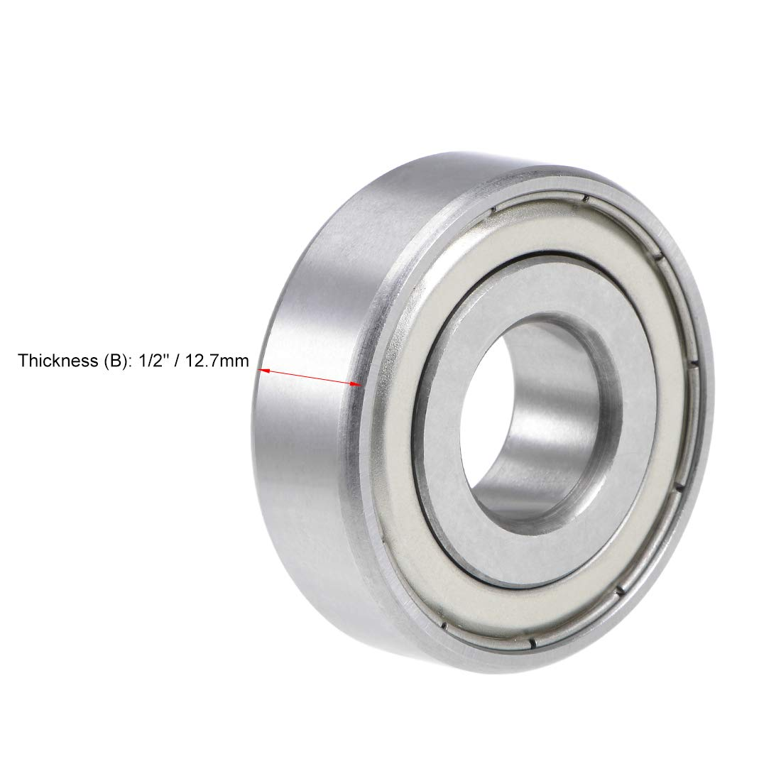 Lowest Friction 4 Radial Ball Bearing.Rubber. 1//2 X 3//4 X 5//32 1//2 inch bore