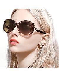 Classic Oversized Sunglasses for Women, HD Polarized Lenses 100% UV400 Protection Fashion Retro Eyewear